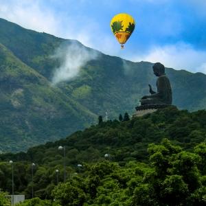 Spuds with Budha Tian Tan in Hong Kong